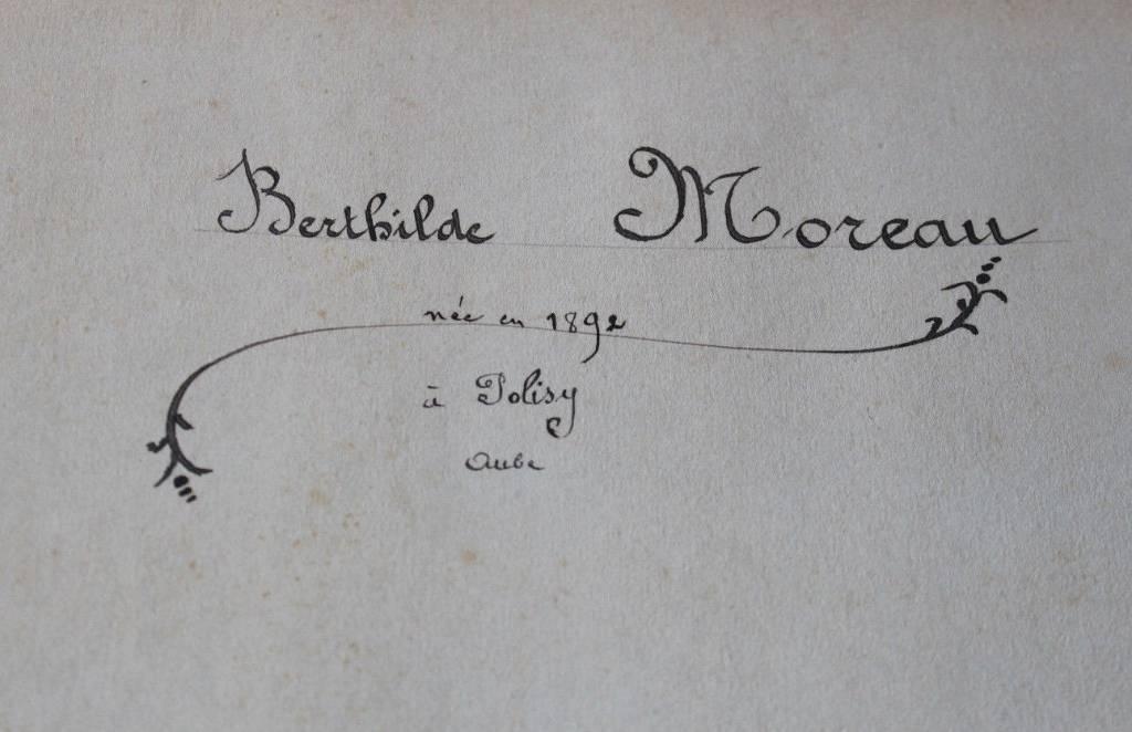 Album ancien Cartes Postales Art nouveau  à décor floral vers 1910   Puces Privées