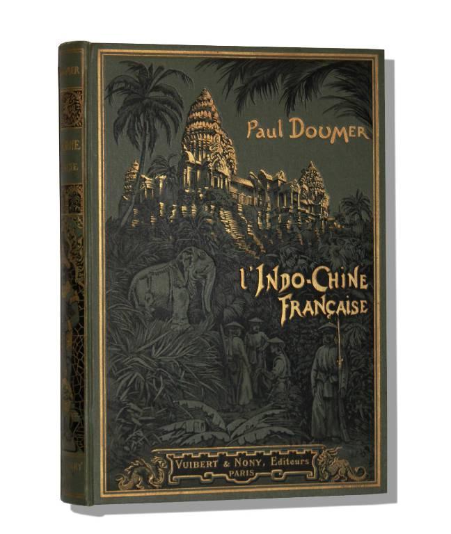 L'INDO-CHINE FRANCAISE (Souvenirs) Laos Cambodge Vietnam Tonkin Voyage Livre encien 1905 | Puces Privées