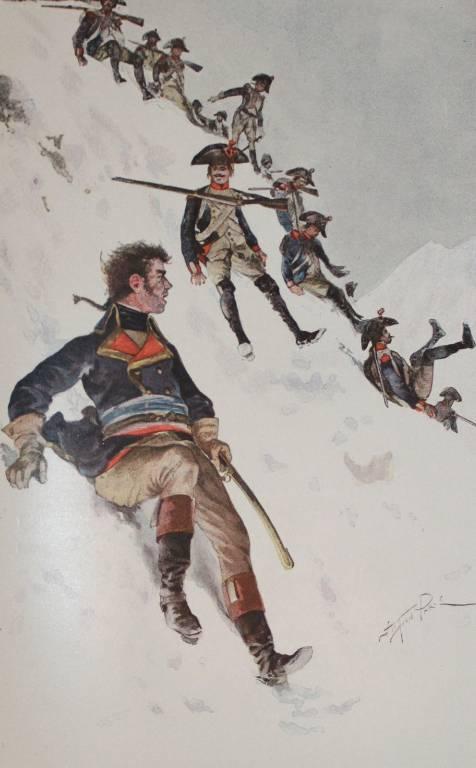 Cartonnage d'éditeur Gloires et Souvenirs Militaires, Empire Napoléon Bonaparte par BIGOT 1894   Puces Privées