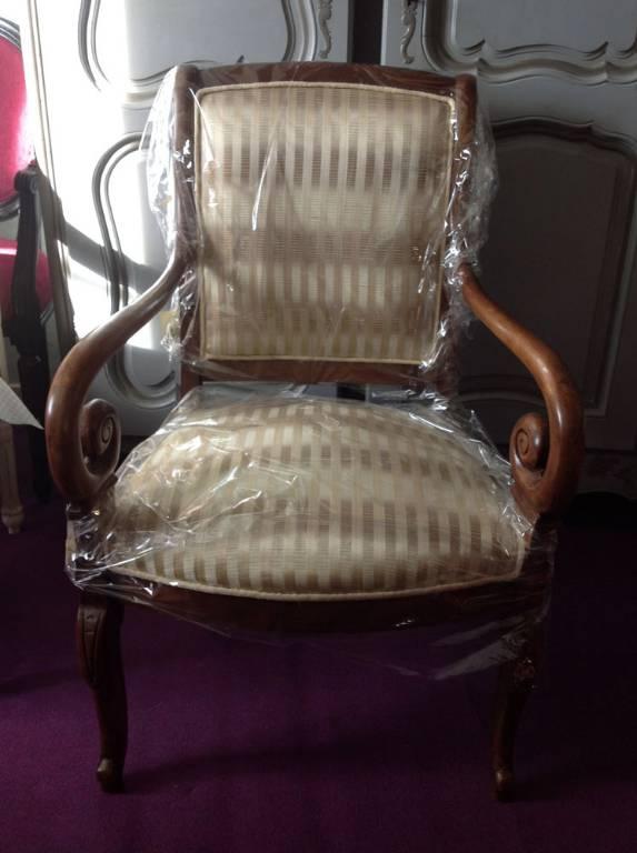 Paire de fauteuils style Restauration | Puces Privées