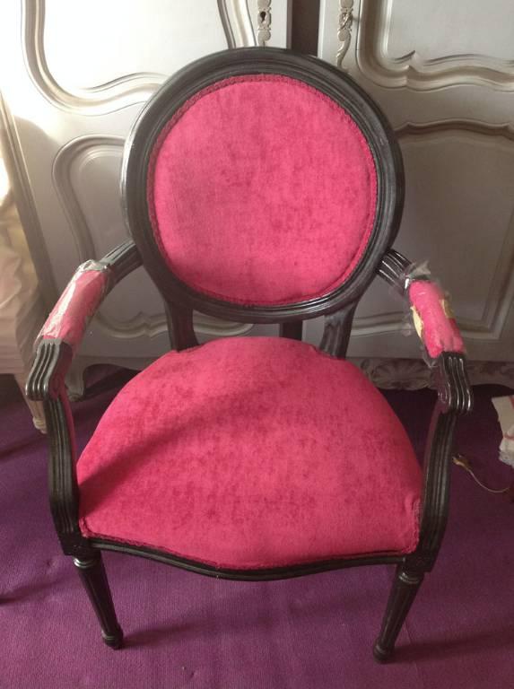 Paire de fauteuils médaillon XX° très déco | Puces Privées