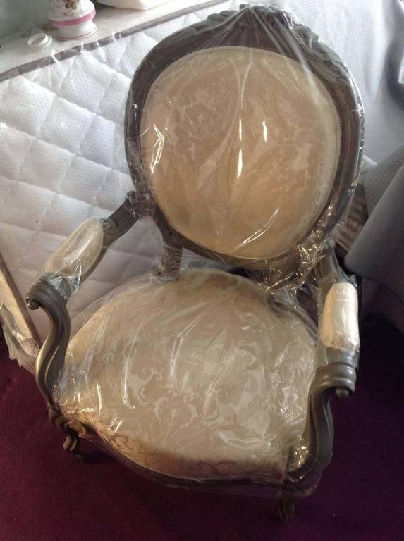 Paire de fauteuils cabriolet époque Louis XV   Puces Privées