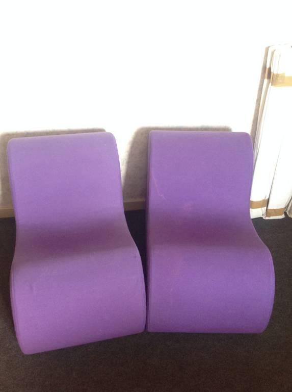 Paire de fauteuils années 70 de Roberto Matta | Puces Privées