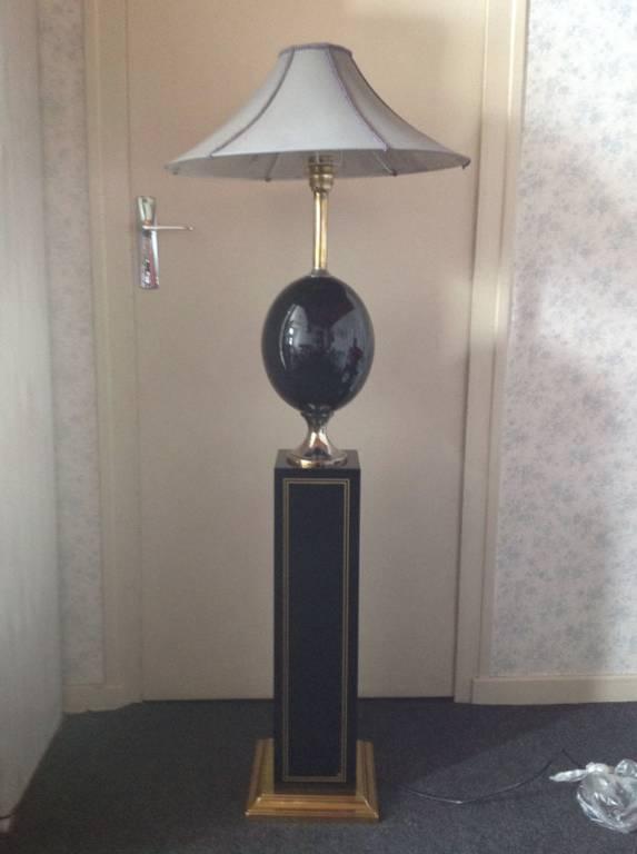 Lampe de parquet années 70 état d'usage | Puces Privées