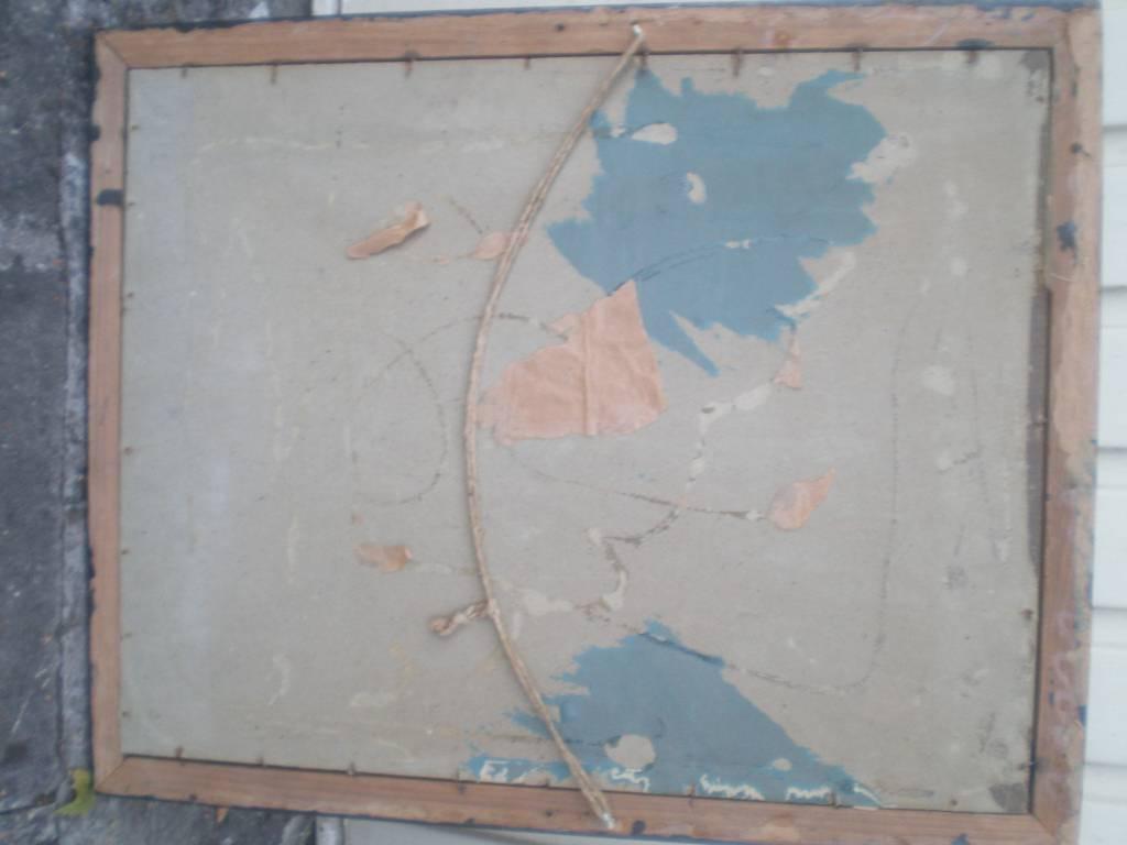 tableau aquarelle sous verre de garde national cedentaire  siege de paris guerre de 1870 a 1871 | Puces Privées