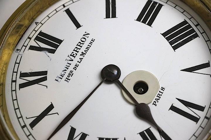 Henri Verron, horloge | Puces Privées