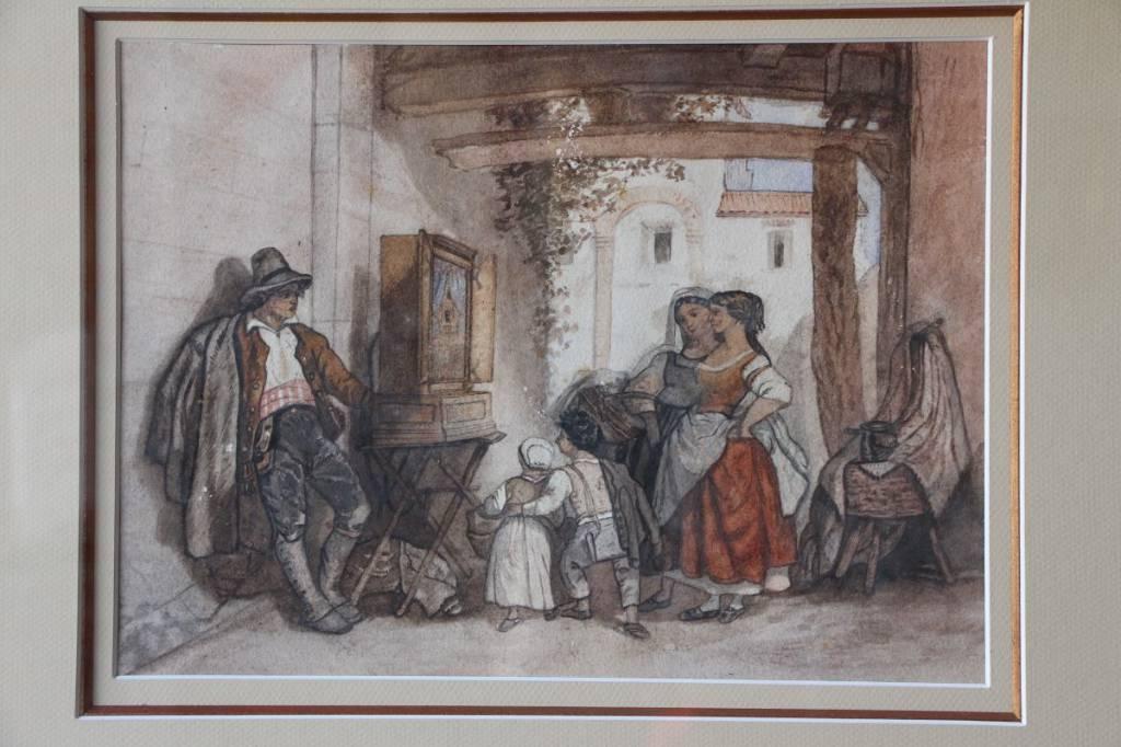 Deux aquarelles italiennes | Puces Privées