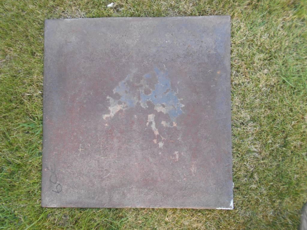 plaque de chemine  aux legionaire romain   Puces Privées