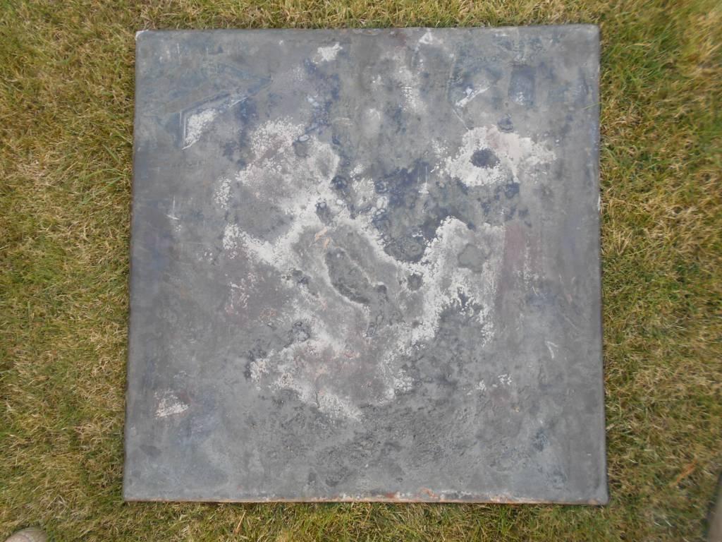 plaque de chemine en fonte au zouave bataille de l  alma | Puces Privées