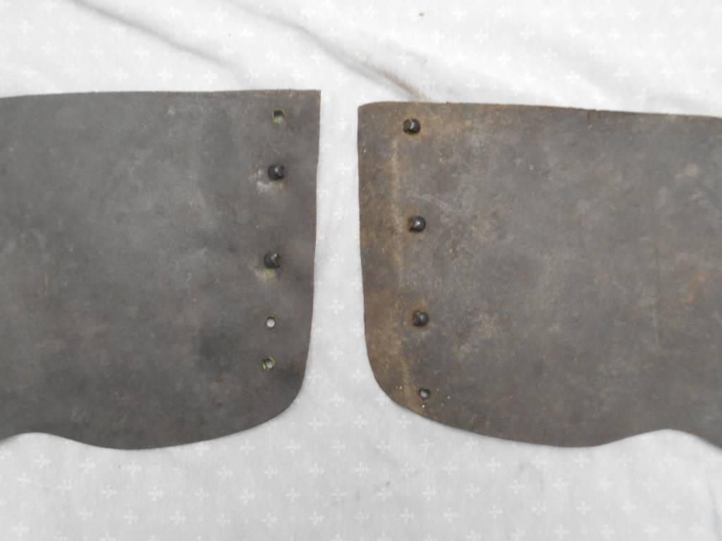 paire de guetre francaise de troupe piou piou de aout 1914   Puces Privées