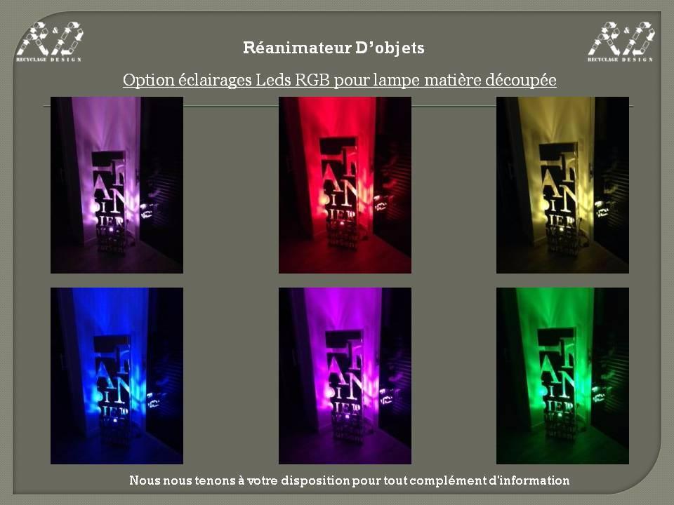 ART 33 Lampe industrielle rectangle avec découpes alu | Puces Privées