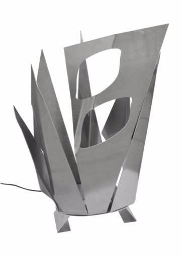 Art N°73 Lampe Cristaux aluminium   Puces Privées