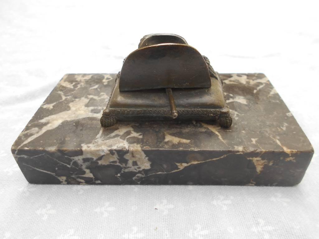 attribut de napoleon 1 marbre et bronze   Puces Privées