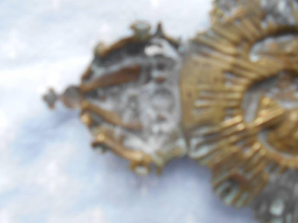 coeur de potrail de troupe de guide de la garde imperiale 2 empire   Puces Privées