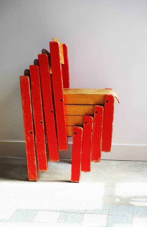 Chaises d'enfant en bois   Puces Privées