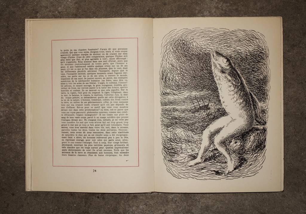 Les chants de Maldoror illustrés par Magritte | Puces Privées