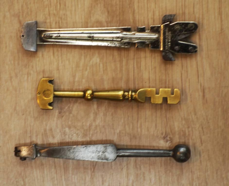 Lot de 7 outils anciens de vitrier | Puces Privées